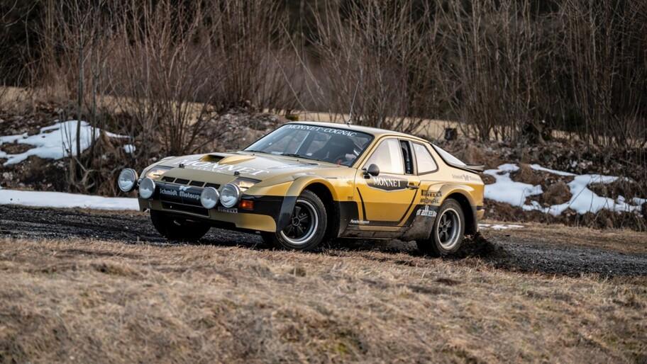 Walter Röhrl y el Porsche 924 Carrera GTS Rally se reúnen después de 40 años