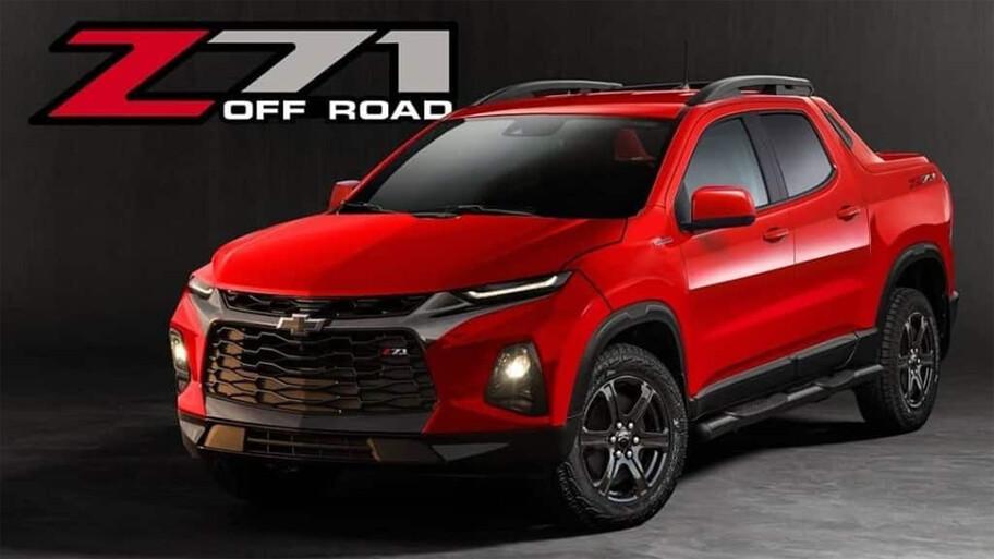 Chevrolet Tornado, un ensayo sobre como sería la pequeña pickup