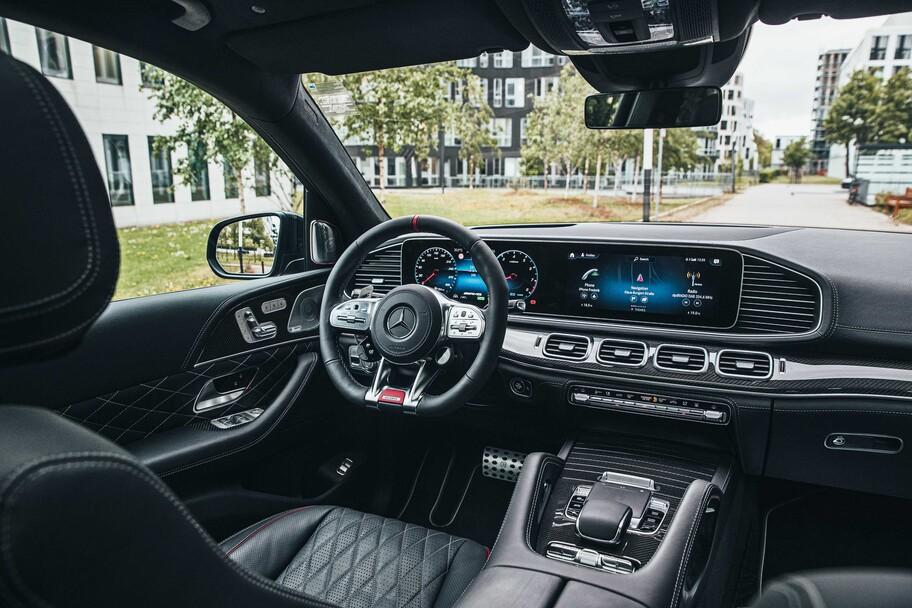 Brabus 800 es un exuberante Mercedes-AMG GLS 63 dotado de más poder