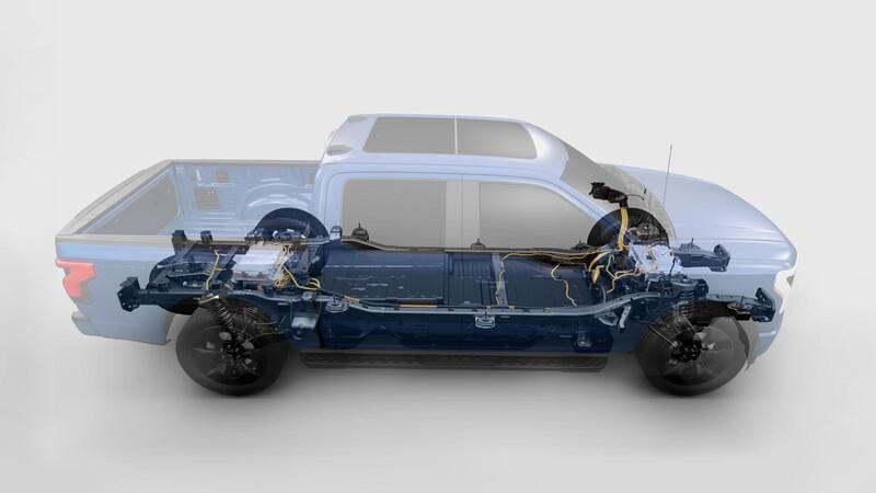 Ford F-150 Lightning 2022, la versión eléctrica de la Lobo