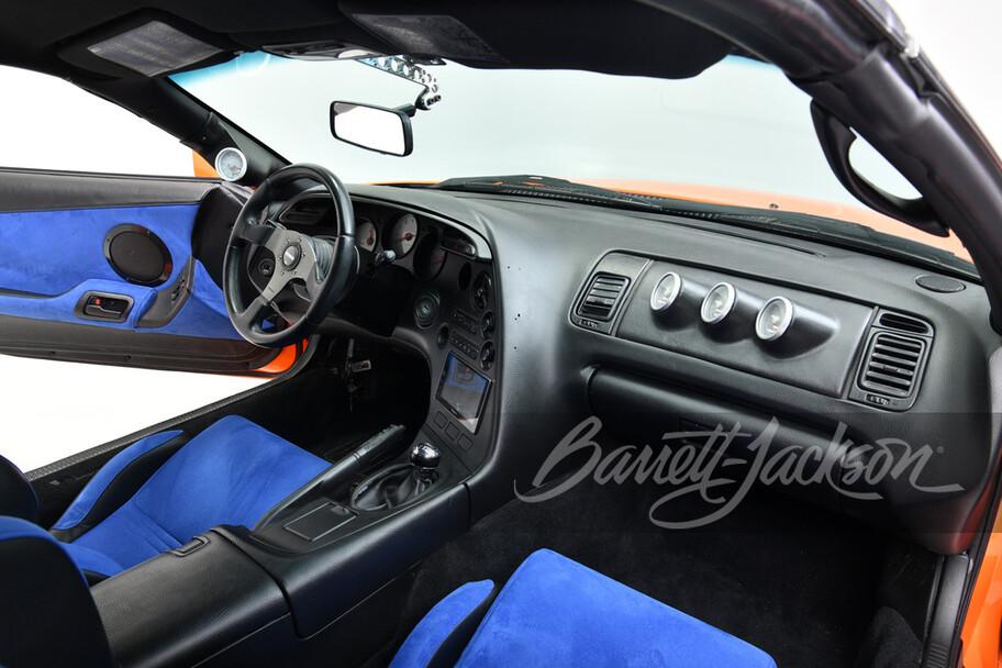 A la venta el famoso Toyota Supra de Rápidos y Furiosos; está valuado en 4 millones de pesos