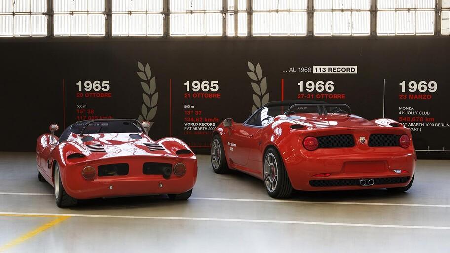 Abarth 1000 SP evoluciona, renace sobre la base de un Alfa Romeo 4C