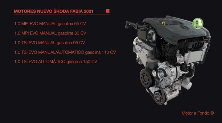 Škoda Fabia 2021, muy cerca del Scala y sólo TSI