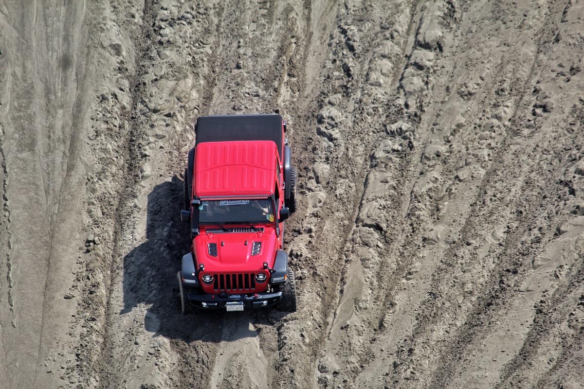El Jeep Wrangler Rubicon conquista el #SandFest 2021 en Veracruz
