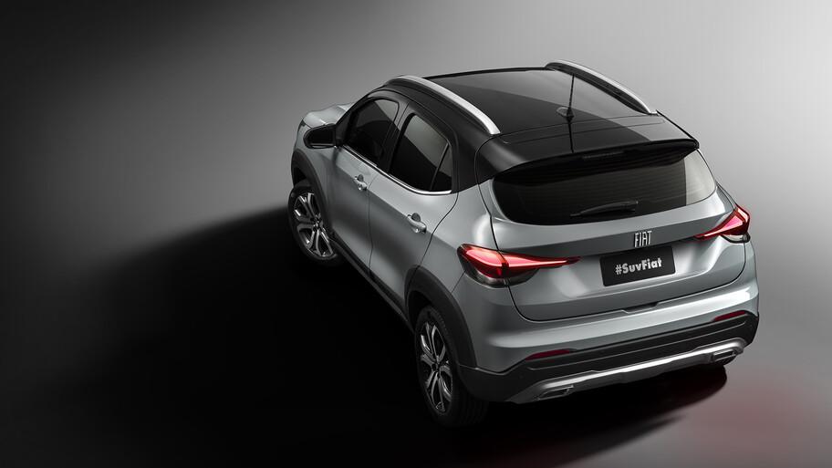 FIAT libera las primeras imágenes oficiales de su nueva SUV pequeña