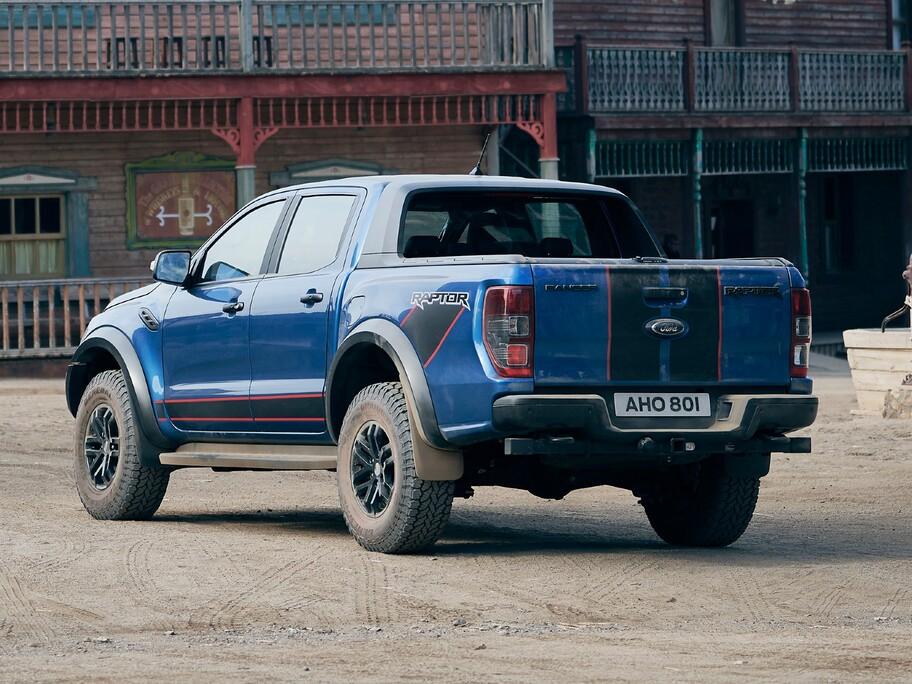 Ford Ranger Raptor Special Edition: mismo poder, pero con un look más deportivo
