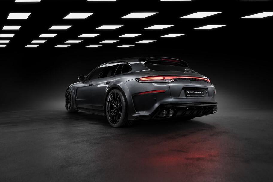 Porsche Panamera Sport Turismo por Techart gana más de 700 hp y una carrocería bastante agresiva
