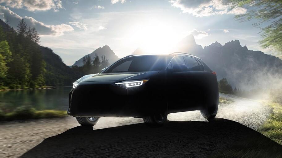 Subaru Solterra EV, así sería la SUV eléctrica desarrollada con Toyota