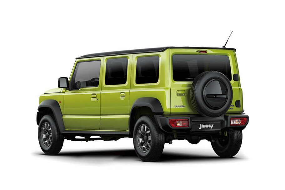 Suzuki Jimny de cuatro puertas está a nada de aparecer en el mercado