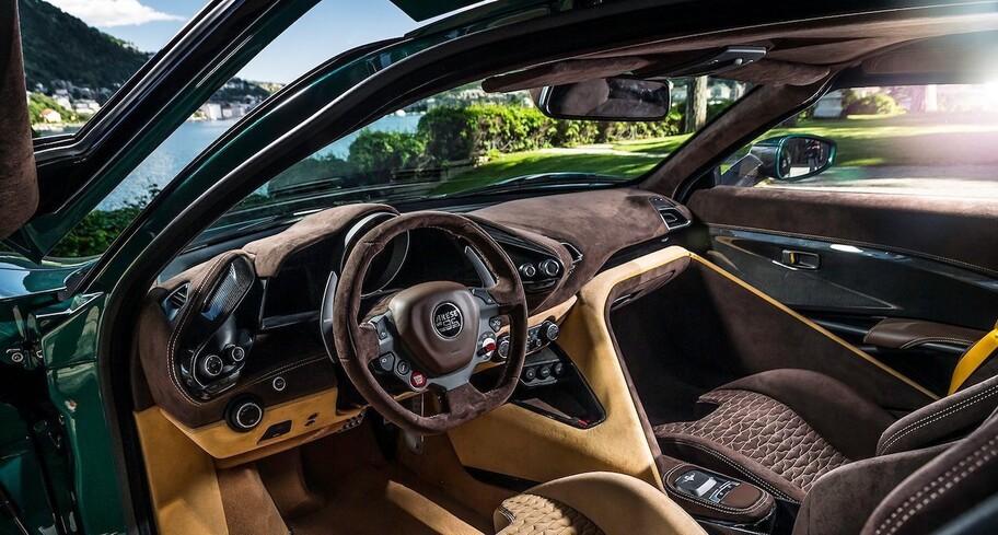 Arese RH95: un espectacular súper auto que celebra el 95 aniversario de Touring Superleggera