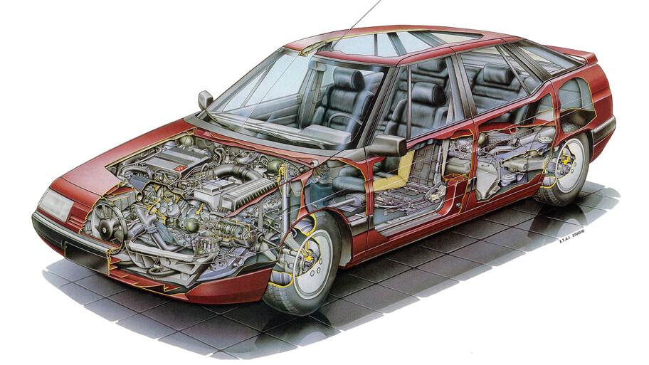 Citroën XM, un futurista pero incomprendido sedán ejecutivo que vale la pena recordar