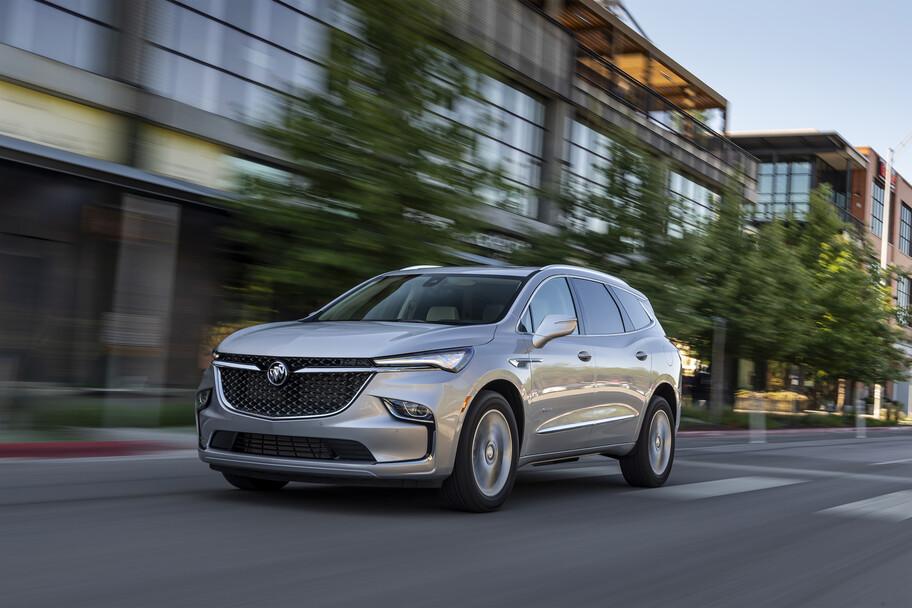 Buick Enclave 2022: estilizada y con más equipamiento