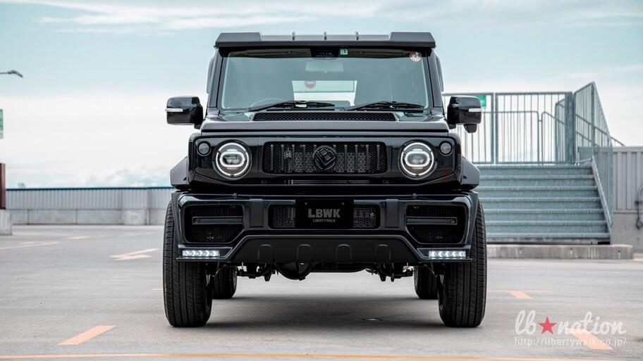 "Suzuki Jimny por Liberty Walk: un Mercedes-Benz Clase G con ""chiquitolina"""