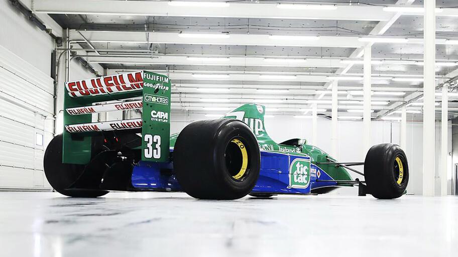 Jordan 191, el primer monoplaza de F1 de Michael Schumacher está a la venta