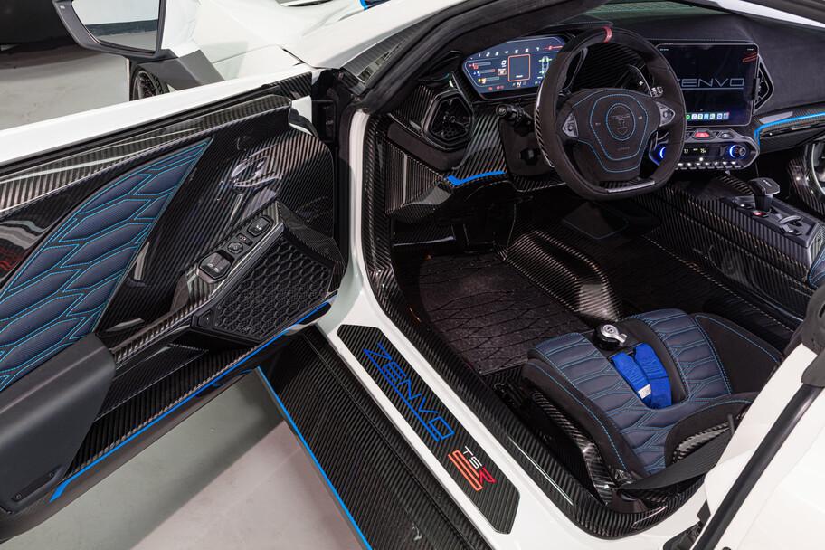 Zenvo TSR-S: un súper auto con casi 1,200 hp que no es híbrido ni eléctrico