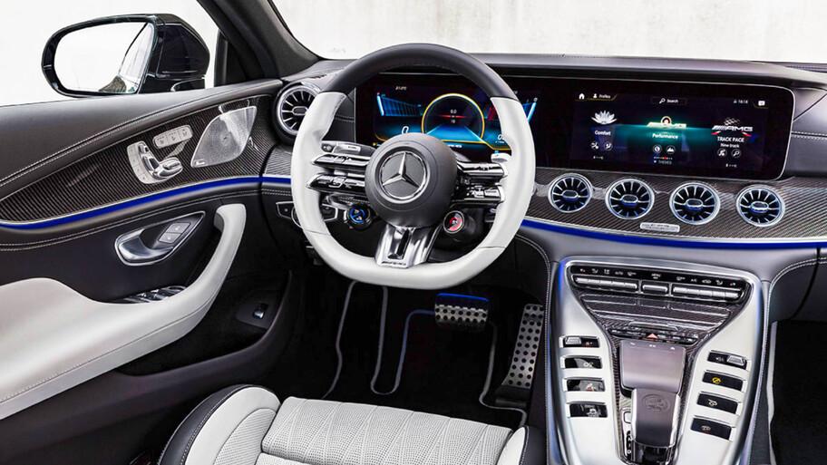 Mercedes-AMG GT 4 Puertas 2022, igual de deportivo, pero más refinado