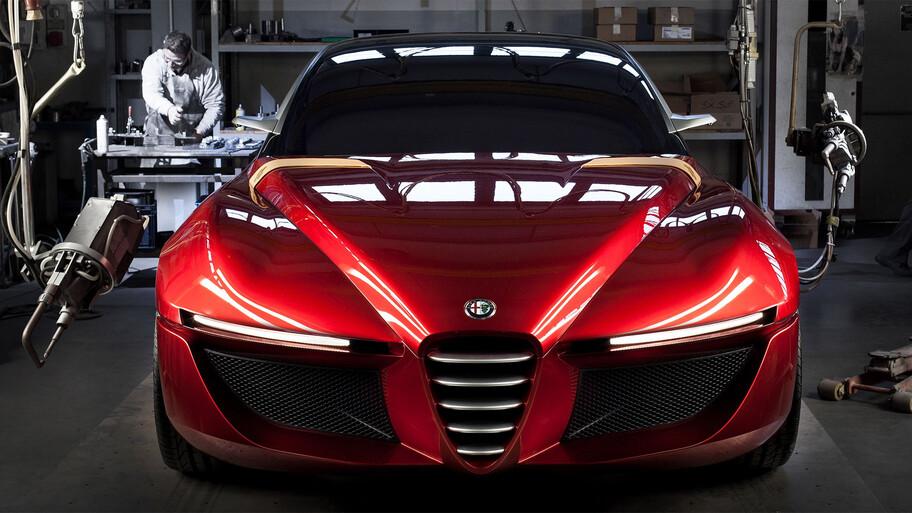 Alfa Romeo GTV regresaría a la vida como un auto eléctrico