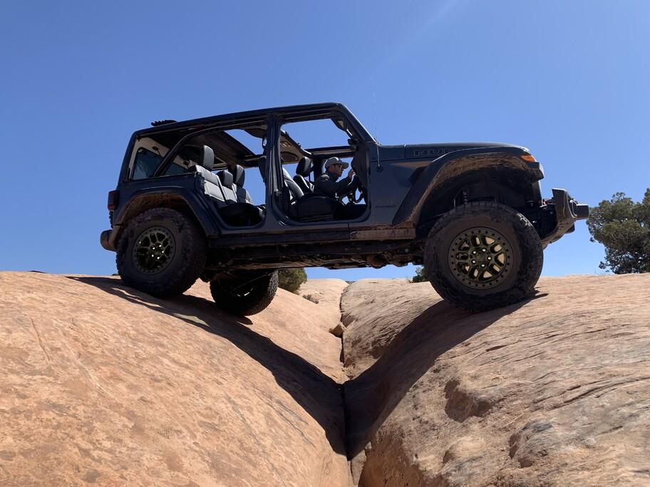 Jeep Wrangler Xtreme Recon Package: listo para el off-road intenso