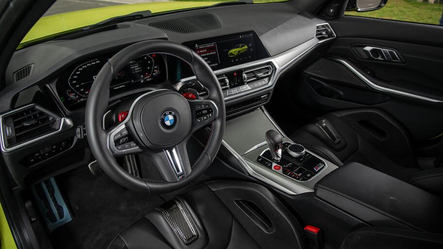 BMW M3 Competition 2022 a prueba, recuperando el mítico manejo de sus predecesores