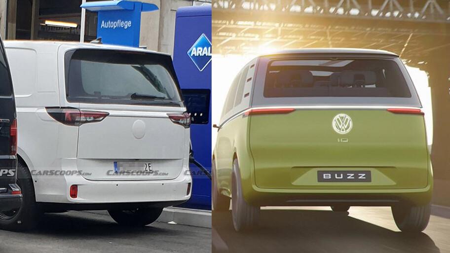 Así luce el Volkswagen I.D. Buzz de producción