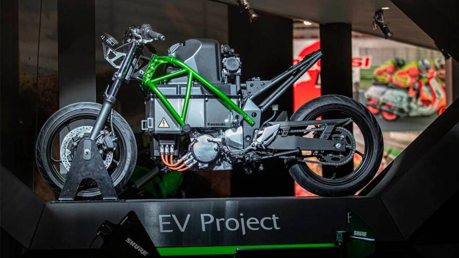 El futuro de Kawasaki: motos eléctricas, híbridas y de hidrógeno