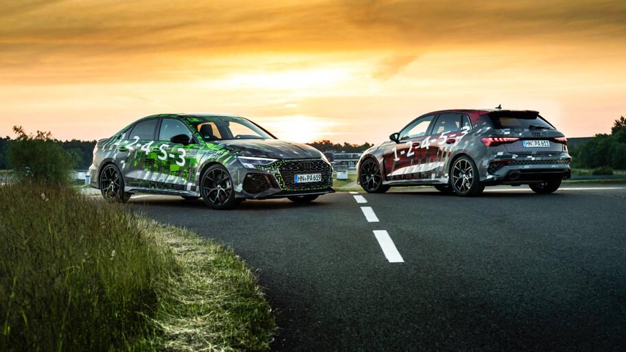 El próximo Audi RS 3 sale a rodar y devela ciertos secretos