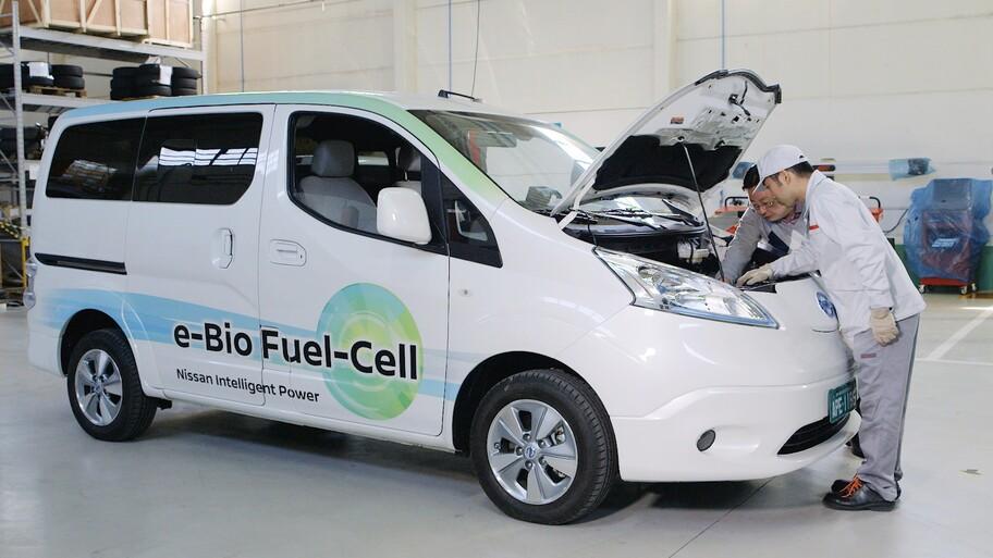 Nissan apuesta por el uso de bioetanol para vehículos de pila de combustible