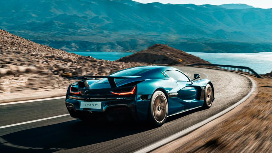 Rimac Nevera 2022: el super auto eléctrico que hace de 0 a 300 km/h en menos de 10 segundos