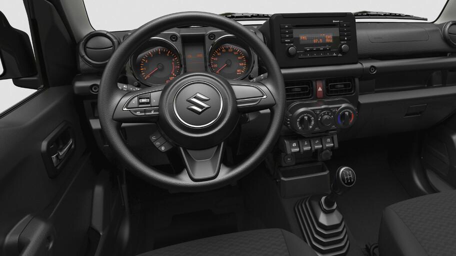 Suzuki Jimny Lite, la versión austera del pequeño todo terreno