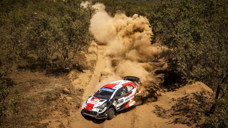 WRC 2021: Ogier y Toyota aprovechan todos los regalos de Hyundai