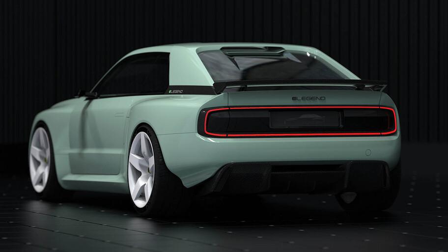 E-Legend EL1, el renacimiento eléctrico del Audi Sport Quattro