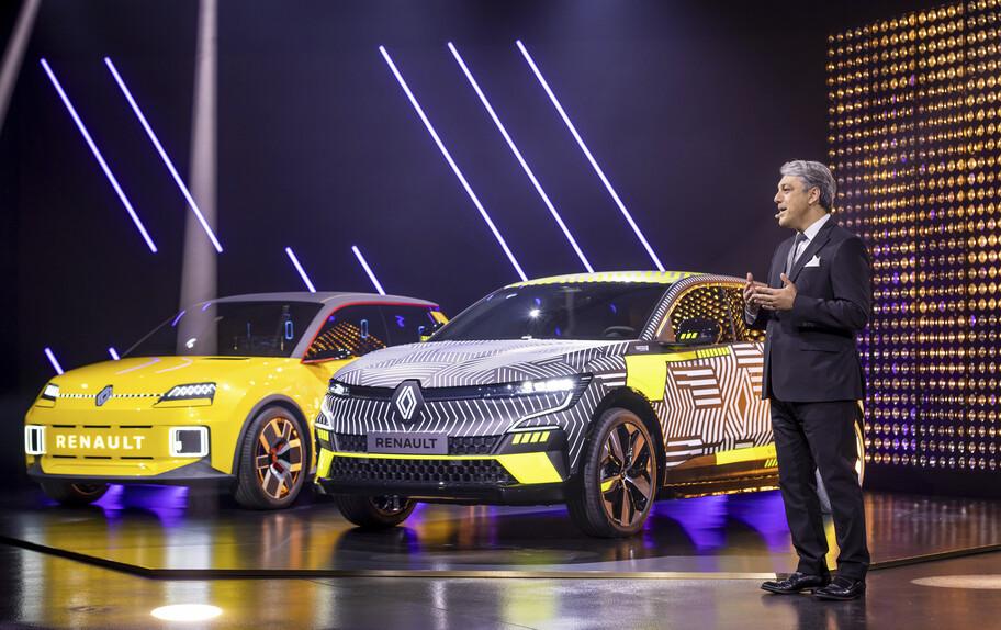 Groupe Renault contempla que para 2030 el 90 por ciento de sus ventas será de autos eléctricos