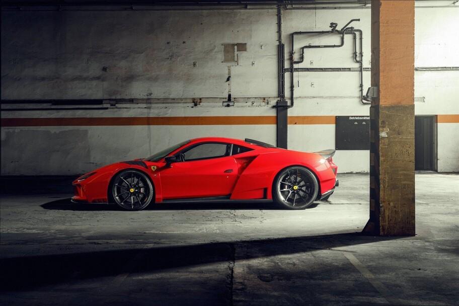 Ferrari F8 N-Largo por Novitec: más agresivo en desempeño y en imagen