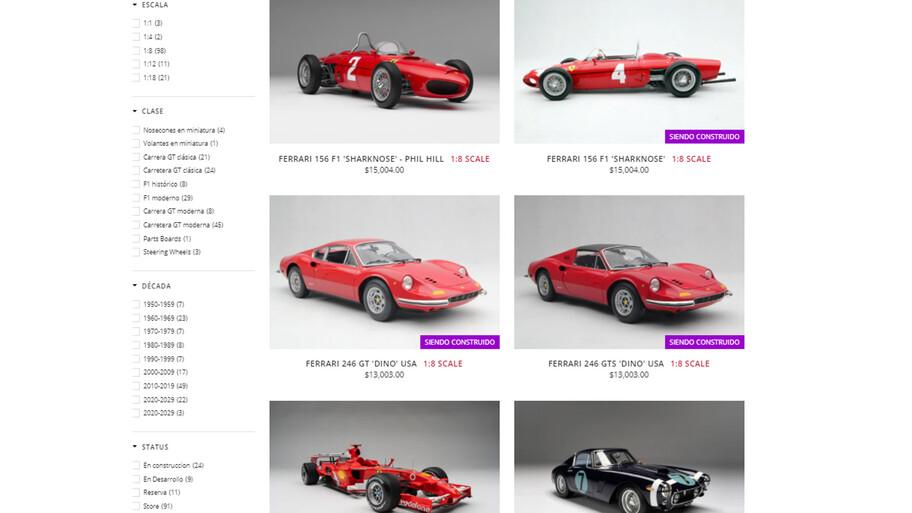 Ferrari a escala ¿baratos?, cuestan casi como un auto nuevo