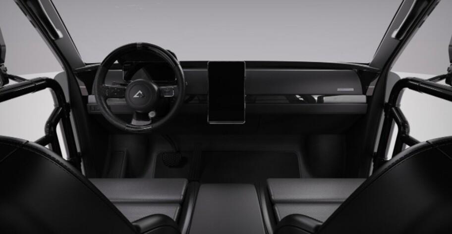 Alpha SuperWolf es una pickup doble cabina eléctrica como ninguna otra