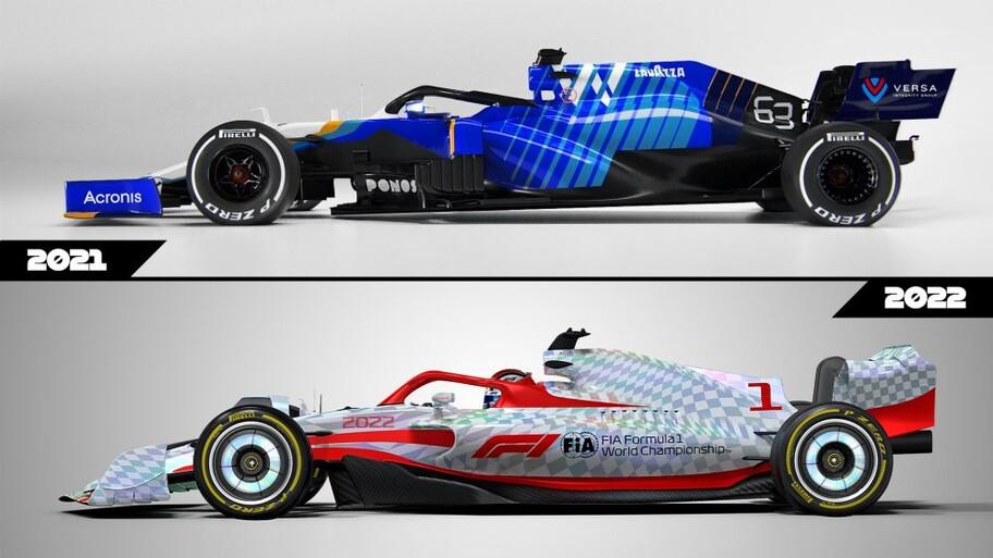Estas son las diferencias entre los monoplazas de F1 de 2021 con los de 2022
