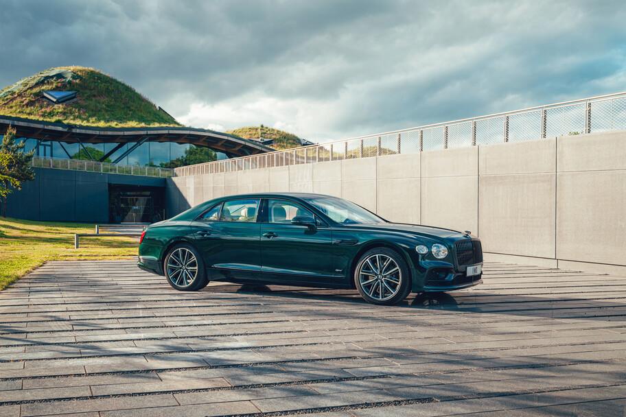 Bentley Flying Spur Hybrid: un sedán híbrido plug-in que supera los 500 hp