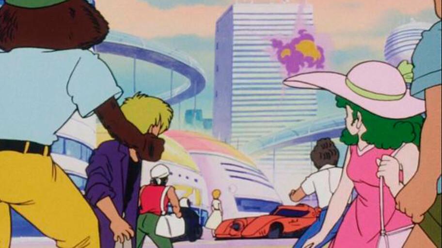 El Batimóvil apareció en Dragon Ball Z y nadie se había percatado de ello