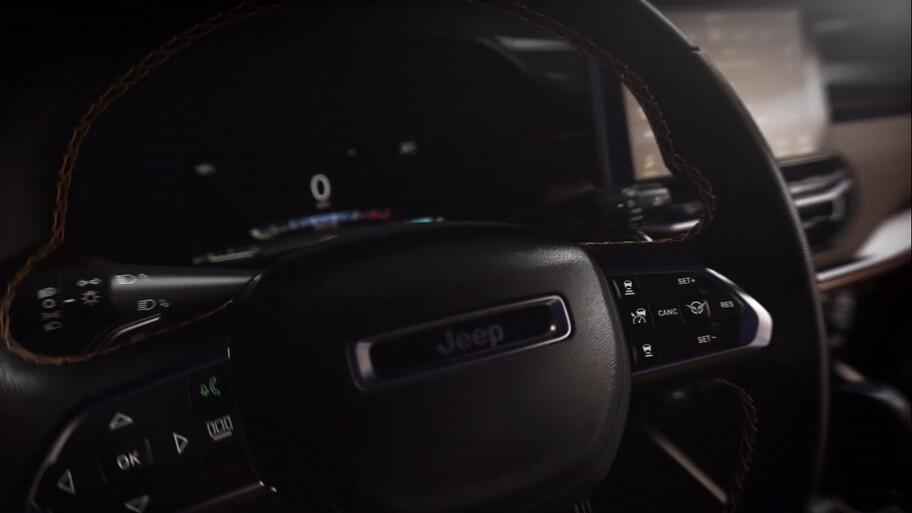El Jeep Commander 2022 nos muestra su interior