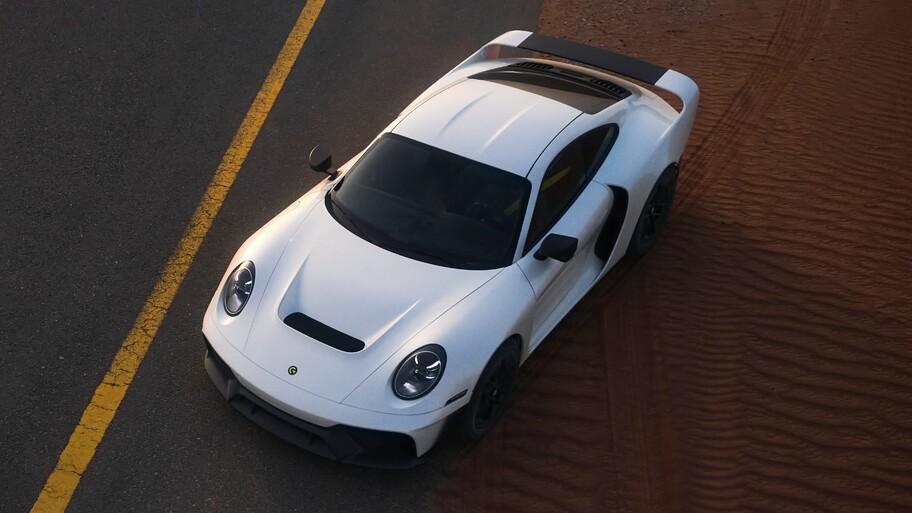 Gemballa Marsien está inspirado en el Porsche 959 y tiene capacidades todoterreno superiores