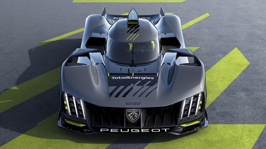 Peugeot 9X8 Hypercar, el radical auto con el que la marca regresa a Le Mans