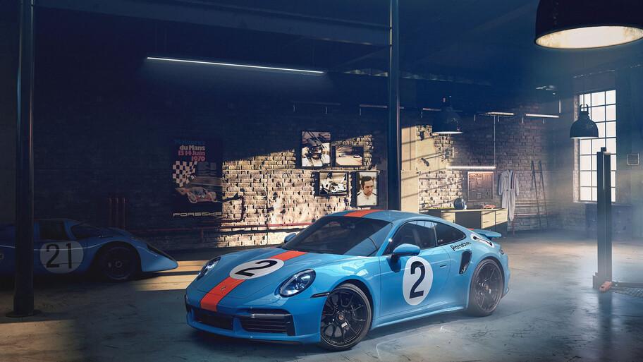 Porsche 911 Turbo S 'One of a Kind' Pedro Rodríguez, una pieza única inspirada en el mítico 917 KH