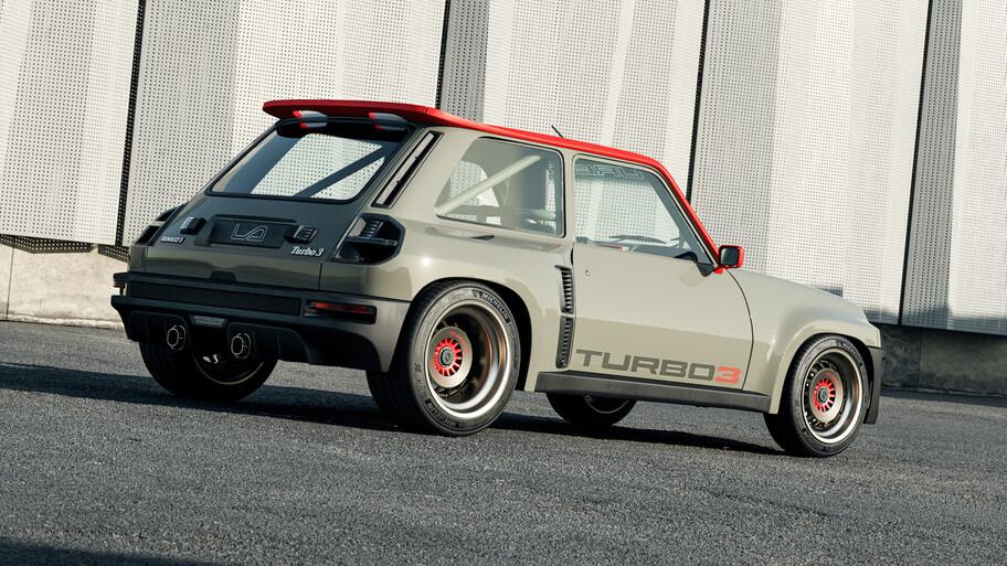 """Renault 5 Turbo 3 por Legende Automobiles: el """"Zapatito"""" es remasterizado con 400 hp"""
