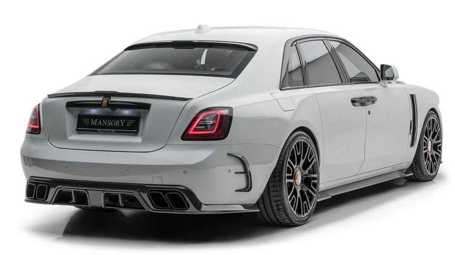 Rolls-Royce Ghost V12 por Mansory: más poderoso y más impresionante