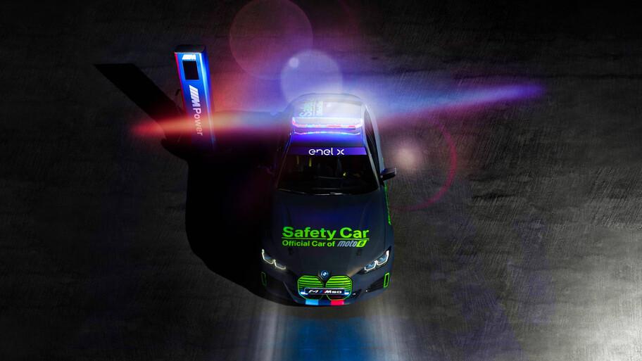 BMW i4 eléctrico es el nuevo Safety Car del MotoE