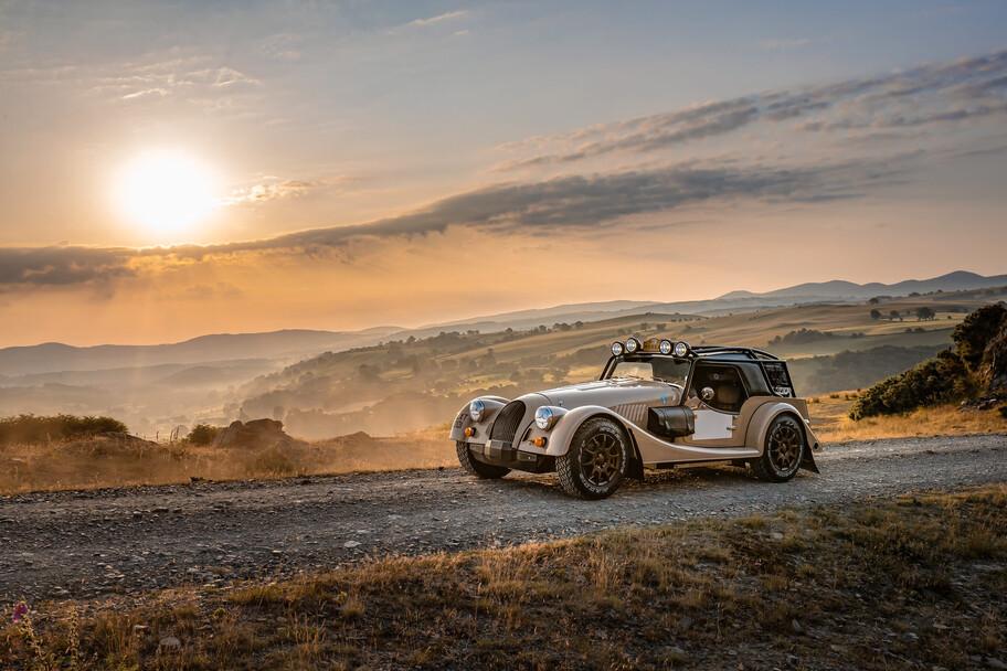 Morgan Plus Four CX-T es el auto perfecto para salir a pasear en caminos de terracería