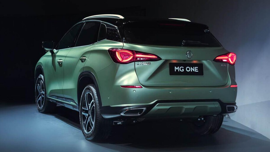 MG One 2022, el sucesor del HS adelanta el nuevo lenguaje de diseño de la marca