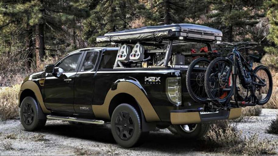 Ford Ranger a hidrógeno