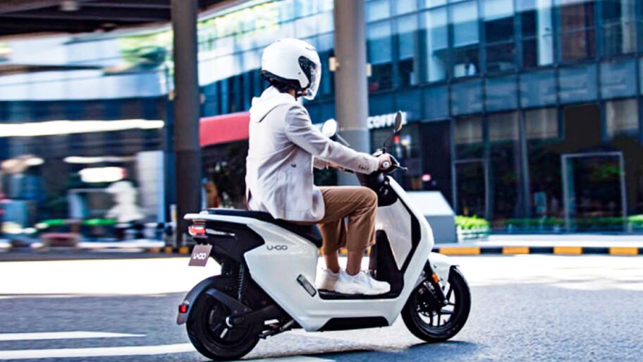 Honda U-GO, la atractiva y accesible scooter eléctrica japonesa