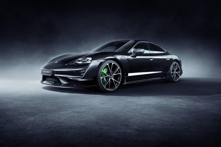 Porsche Taycan por TechArt: un look más agresivo al mejor sedán del momento